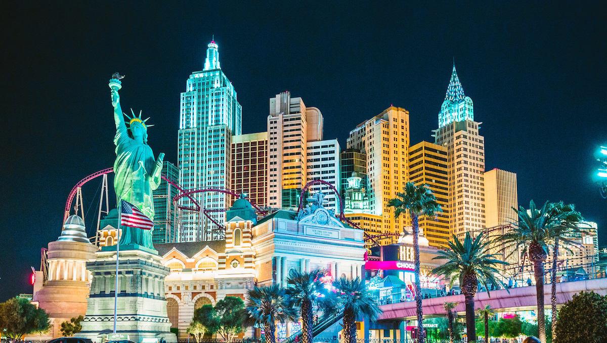 Las Vegas Strip reisadvies en corona reisbeperkingen in Amerika